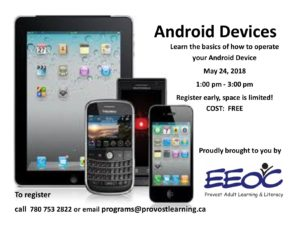 Android Devices @ Provincial Building | Provost | Alberta | Canada