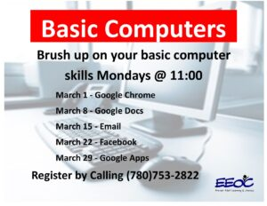 Basic Computers @ EEOC: Provost Provincial Building
