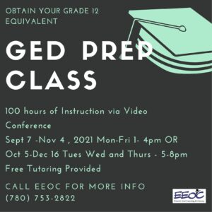 GED Day Classes @ EEOC Provost Adult Learning & Literacy
