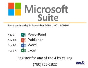 Microsoft Suite @ EEOC Provost Adult Learning & Literacy