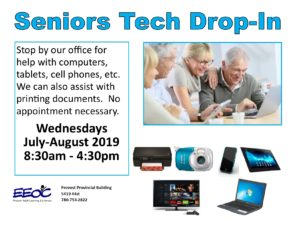 Seniors Tech Drop-in @ EEOC Provost Adult Learning & Literacy