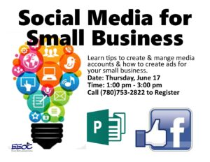 Social Media for Small Business @ EEOC Provost Adult Learning & Literacy