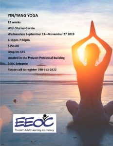 Yoga @ EEOC Provost Adult Learning & Literacy